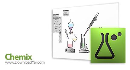 دانلود Chemix v2.0 - نرم افزار دسترسی به تصاویر لوازمات آزمایشگاه شیمی