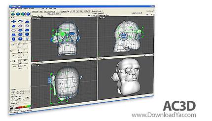 دانلود AC3D v6.7.15a - نرم افزار طراحی ۳بعدی