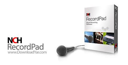 دانلود NCH RecordPad v3.03 - نرم افزار ضبط صدا