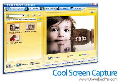 دانلود Cool Screen Capture v7.0.1.460 - نرم افزار ضبط فیلم از صفحه نمایش