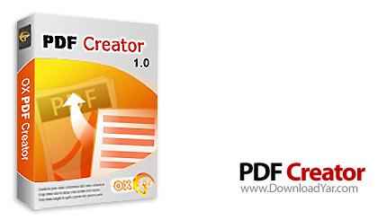 دانلود OX PDF Creator v1.0 - نرم افزار ساخت اسناد PDF