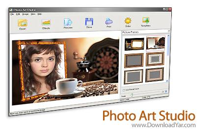 دانلود Photo Art Studio v2.75 - نرم افزار قرار دادن تصاویر درون قاب های زيبا