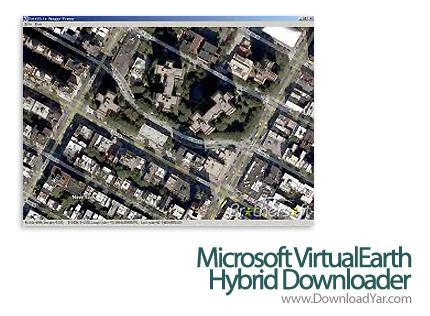 دانلود Allallsoft Microsoft VirtualEarth Hybrid Downloader v6.98 - نرم افزار ذخیره تصاویر ماهواره ای مایکروسافت
