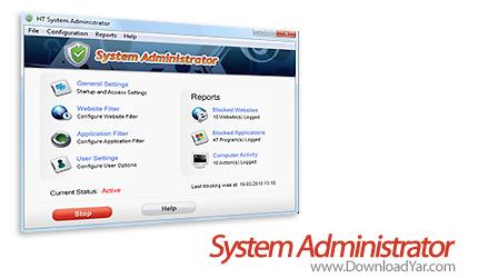 دانلود Hidetools System Administrator v7.5.2 - نرم افزار زیر نظر گرفتن فعالیت کاربران
