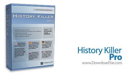 دانلود History Killer PRO v5.0.2 - نرم افزار از بین بردن ردپا ها در کامپیوتر