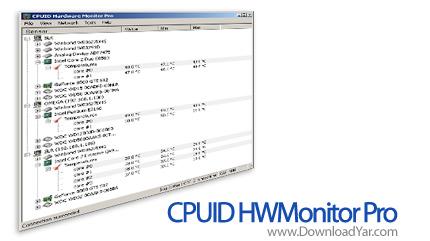دانلود CPUID HWMonitor Pro v1.10 - نرم افزار نگهداری و نظارت بر سخت افزار