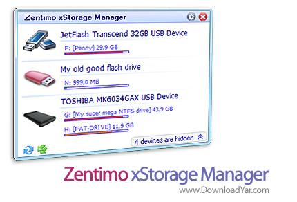 دانلود Zentimo xStorage Manager v1.1.2.1024 - نرم افزار مدیریت درایو های اکسترنال