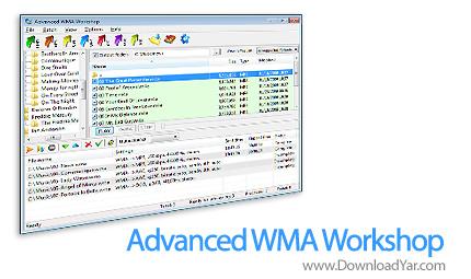 دانلود Litex Media Advanced WMA Workshop v2.7.3 - نرم افزار تبدیل فرمت های صوتی