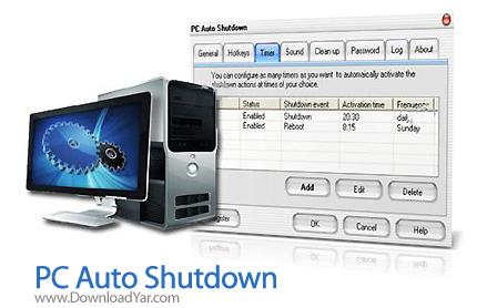 دانلود GoldSolution PC Auto Shutdown v4.41 - نرم افزار خاموش کردن سیستم به صورت خودکار