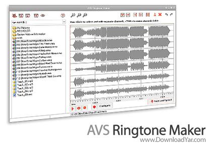 دانلود AVS Ringtone Maker v1.6.1.140 - نرم افزار ساخت ringtone های حرفه ای