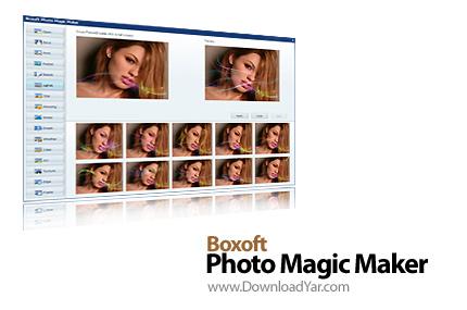 دانلود Boxoft Photo Magic Maker v1.1 - نرم افزار قرار دادن افکت بر روی تصاویر