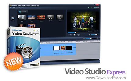 دانلود Aimersoft Video Studio Express v1.0.0.18 - نرم افزار ویرایش فایل های ویدئویی