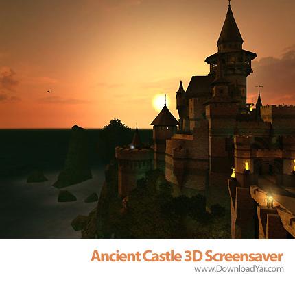 دانلود Ancient Castle 3D Screensaver v1.1 - محافظ صفحه نمایش قلعه باستانی