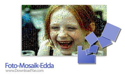 دانلود Foto Mosaik Edda v5.7.1 - نرم افزار ساخت تصاویر موزاییکی