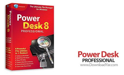 دانلود PowerDesk Professional v8.2.0.18 - نرم افزار سازماندهی و مدیریت فایل ها