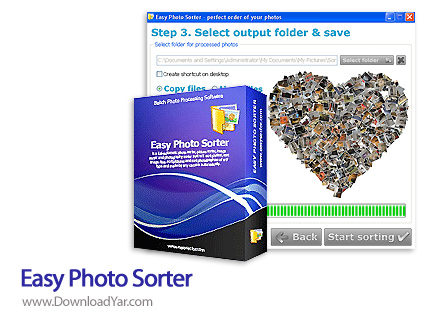 دانلود Easy Photo Sorter v2.6 - نرم افزار مرتب سازی تصاویر