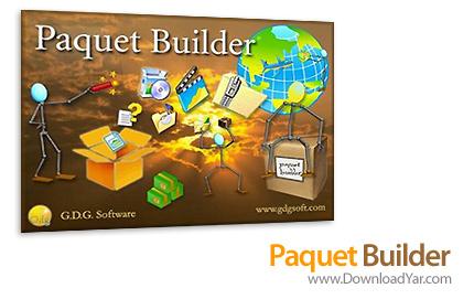 دانلود G.D.G. Paquet Builder v2.9.6 Commercial Edition - نرم افزار ساخت فایل های آرشیوی و فشرده سازی فایل ها