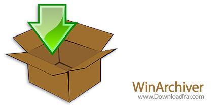 دانلود WinArchiver v2.2 - نرم افزار اجرا، ساخت و مدیریت فایل های آرشیو