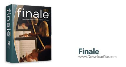 دانلود MakeMusic Finale 2011Fa - نرم افزار ویرایش فایل های صوتی