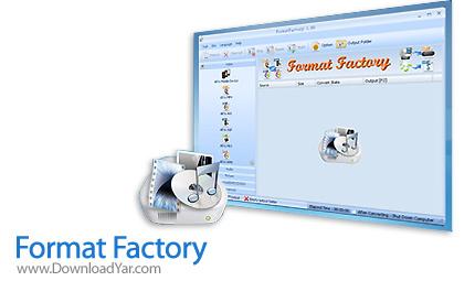 دانلود Format Factory Multilingual v2.60 - نرم افزار مبدل فایل های مدیا