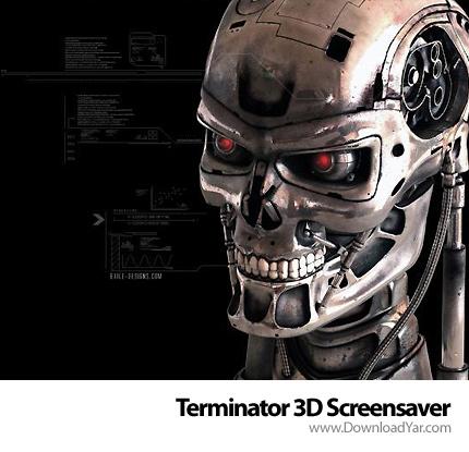 دانلود Terminator 3D Screensaver v1.0 - اسکرین سیور نابودگر