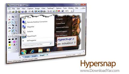دانلود Hyperionics Hypersnap v6.83.02 - نرم افزار عکسبرداری از صفحه مانیتور