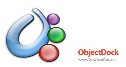 دانلود Stardock ObjectDock Plus v2.0.50727 - نرم افزار سازماندهی برنامه ها بر روی دسكتاپ