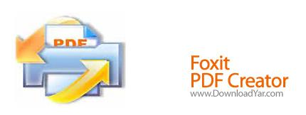 دانلود Foxit PDF Creator v3.1.0.1210 - نرم افزار تبدیل به سند PDF